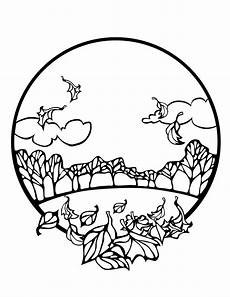 Ausmalbilder Herbst Blatt 5 Free Fall Coloring Sheets Autumn Season Coloring Pages