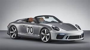 This Is The Porsche 911 Speedster Concept  Top Gear