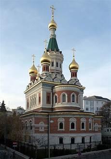 die russisch orthodoxe kathedrale zum heiligen nikolaus in