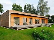 Moderner Bungalow Baufritz Musterhaus Net