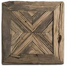 Wood Timber 12inch Square Vintage Wall by Luxe Horchow Rustic Pine Reclaimed Wood Wall Square