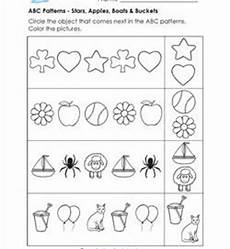 pattern worksheets for kindergarten a wellspring of worksheets