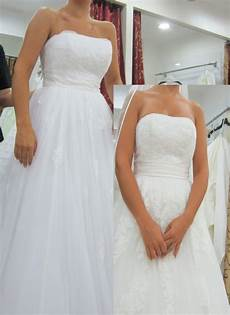 Wedding Dress White Vs White