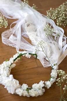 the bridesmaid season diy flower crown veil with michelle kim