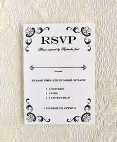 rsvp card template rsvp cards print