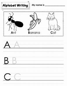 kindergarten letter a worksheets 23374 kindergarten alphabet worksheets to print activity shelter