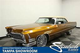 1968 Cadillac DeVille Convertible For Sale 84787  MCG