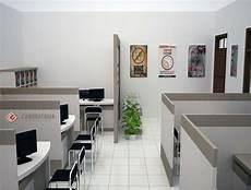 Interior Jombang Ruangan Kerja Bersekat Di 2020 Interior