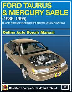 car service manuals pdf 1994 ford taurus head up display 1994 ford taurus haynes online repair manual select access ebay
