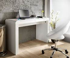 designer schreibtisch weiß schreibtisch melvin 120x50 weiss hochglanz 2 schubladen ebay