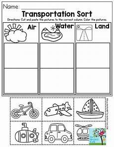 resultado de imagem worksheet preschool transportation preschool transportation