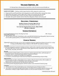 10 new graduate nursing resume exles cover letter