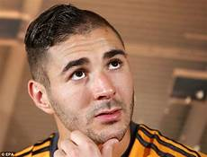 karim benzema haircut karim benzema haircut joins sports hall of shame daily mail online