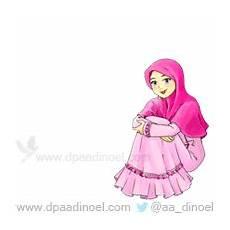 Perumahan Islami Kumpulan Gambar Animasi Wanita Muslimah
