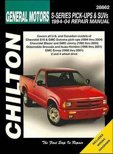 service and repair manuals 1995 chevrolet s10 lane departure warning general motors s series pick ups and suvs 1994 2004 1563926008 9781563926006 chilton usa