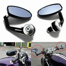 Triumph Cafe Racer Bar End Mirrors