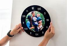 personalised photo clock make your own