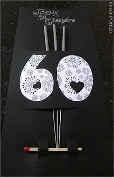 carte d anniversaire 60 ans 60 ans anniversaire carte