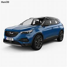 Opel Grandland X 2017 3d Model Vehicles On Hum3d