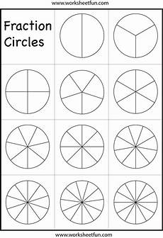 blank fraction worksheets 3866 fraction circles template printable fraction circles 1 worksheet free printable worksheets