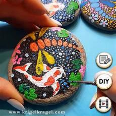 steine bemalen mit acrylfarbe diy dekoidee steine bemalen die im dunkeln leuchten