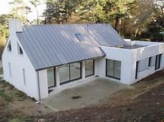 toit plat en zinc maison toit plat zinc