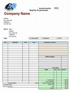 mechanic receipt template mechanic shop invoices search m a r s