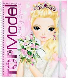 topmodel livre 224 colorier create topmodel wedding special