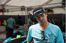 Nelson Piquet Jr - exclusive with formula e chion nelson piquet jr