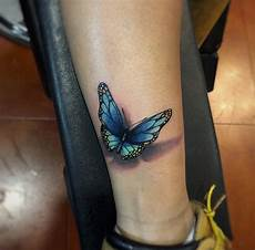 top 10 gorgeous 3d butterfly tattoos for women
