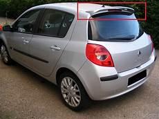 Clio 3 Renault Renault Clio 3 Mk3 Rear Roof Spoiler New Ebay