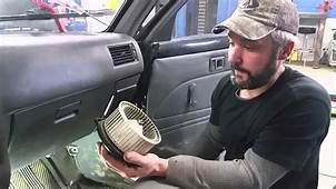 Blower Motor & Resistor  Toyota Pick Up YouTube
