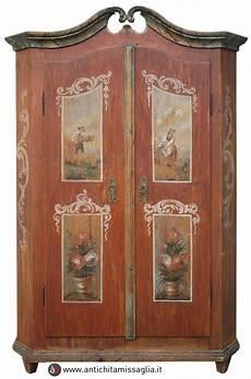 armadi tirolesi antichi armadio dipinto tirolese antico antichit 195 missaglia