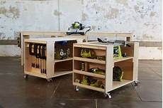 White Ultimate Roll Away Workbench System For Ryobi