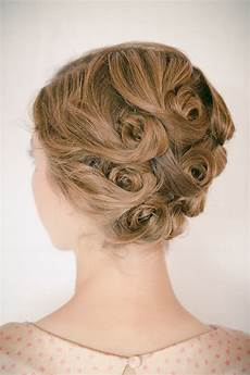 the hair arranged curl updo the boyer