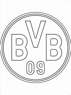 Ausmalbilder Fussball Wappen Bundesliga Bvb Logo Zum Ausmalen Social Networking Ausmalen
