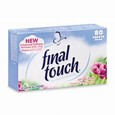 tide final touch dryer sheets spring fresh scent 80 sheets case of 6 boxes by office depot