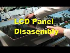 lcd panel disassembly