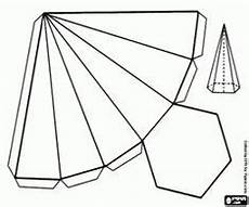Malvorlage Sechseckiger 3d Triangle Templates Printable Shapes Crafts Triangle