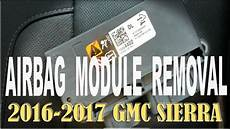 airbag deployment 2011 gmc canyon user handbook airbag module removal 2014 18 gmc sierra youtube