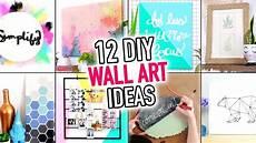12 easy wall art room decoration ideas diy compilation