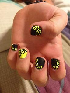 70 trendy neon yellow nail art design ideas