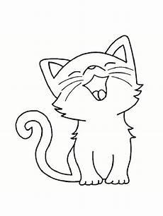 dessin facile chat dessin de chat facile les dessins et coloriage