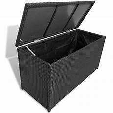 poly rattan auflagenbox gartentruhe gartenbox kissenbox