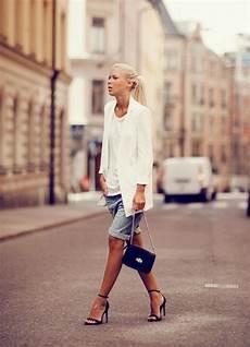 le dressing idéal comment porter le court femme en 233 t 233 comme en hiver