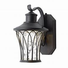 home decorators collection black outdoor led dusk to dawn