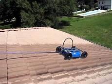 nettoyer toit nettoyage toiture robot laveur de toit haute pression