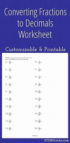 worksheet decimal to fraction 7306 128 best math stem resources images on math stem algebra and expanded form worksheets