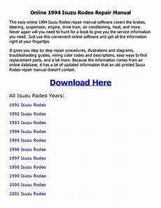 online auto repair manual 1994 isuzu rodeo security system 1994 isuzu rodeo repair manual online by sadi1sdi1 issuu