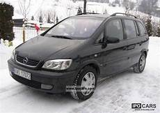 2002 Opel Zafira Elegance Car Photo And Specs